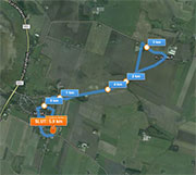 5 km. ruten