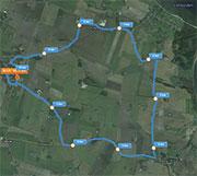 10 km. ruten